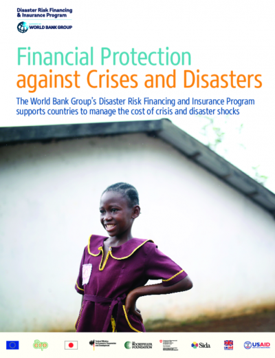 Financial Protection against Natural Disasters