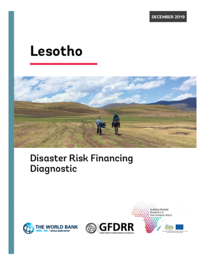 Lesotho Disaster Risk Financing Diagnostic