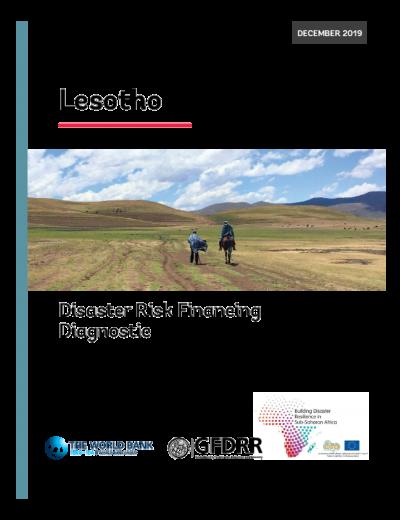 Lesotho Disaster Risk Financing Diagnostic