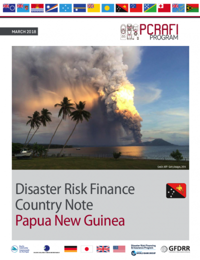 PCRAFI Program: Disaster Risk Finance Country Note – Papua New Guinea