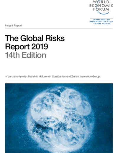 The Global Risks Report 2019 (14th Edition) by World Economic Forum