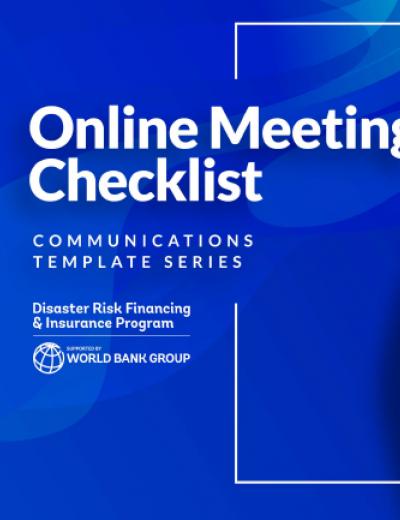 Online Meeting Checklist