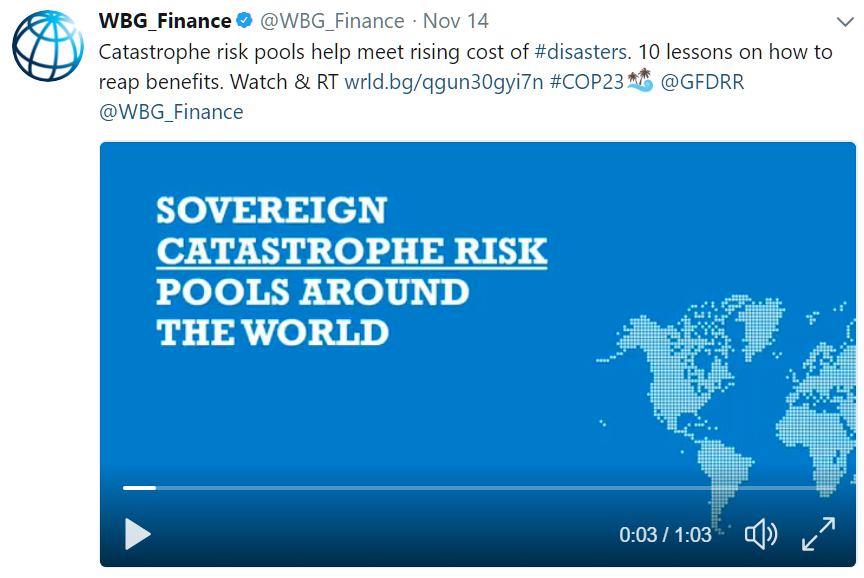 sovereign catastrophe risk financing Disaster risk financing and insurance strategy of the philippines  session 5:  enhancing financial resiliency | 12 june 2015  sovereign.