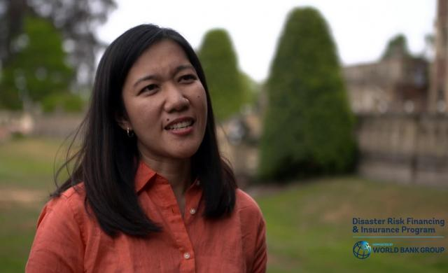 Lesley Jeanne: Disaster Risk Financing in Philippines