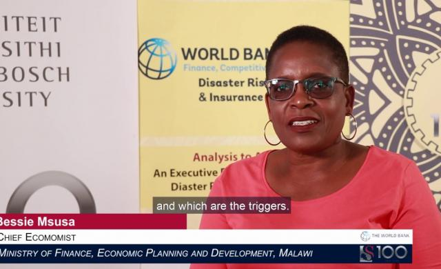 Bessie Msusa: Disaster Risk Data Empowers Governments to Make Risk-informed Decisions