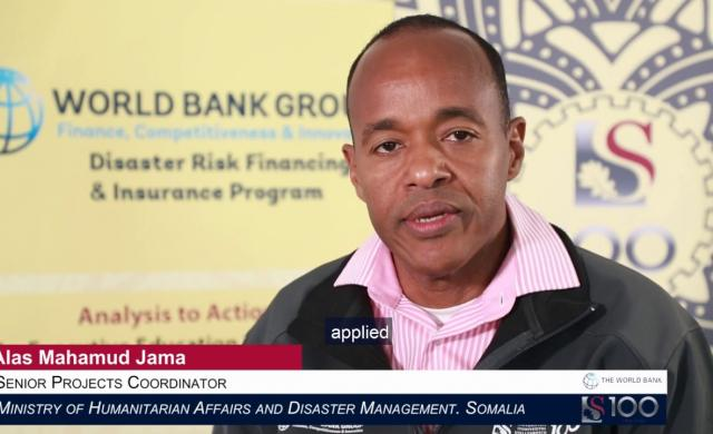 Alas Mahamud Jama: Disaster Risk Financing in Somalia