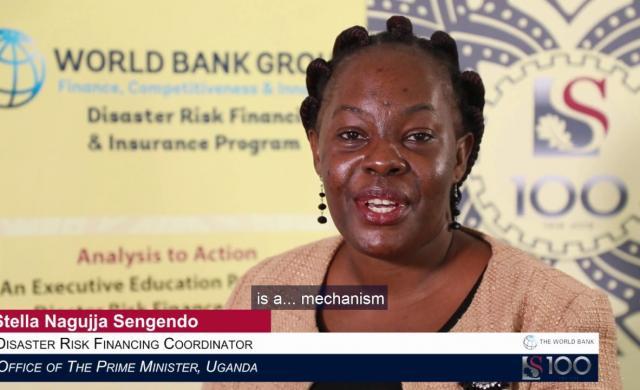 Stella Nagujja Sengendo: Disaster Risk Financing in Uganda