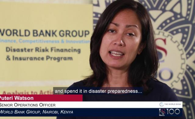 Puteri Watson: Building Financial Resilience Against Natural Disasters