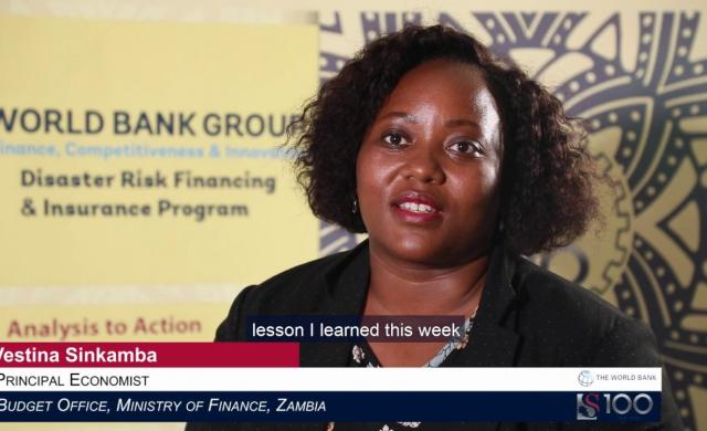 Vestina Sinkamba: Risk Layering Mobilizes Different Instruments to Address Evolving Needs for Funds