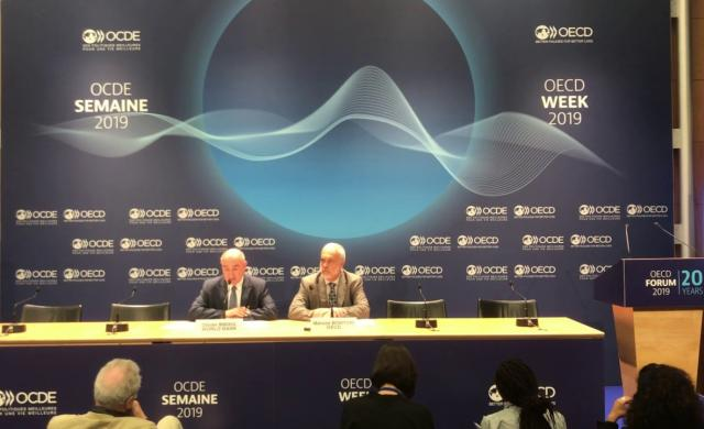 """Launch of Joint OECD and World Bank report """"Fiscal Resilience to Natural Disasters"""", OECD Forum 2019"""