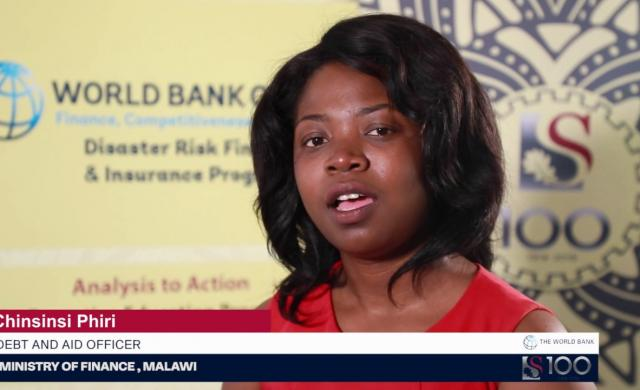 Chinsinsi Phiri: Learning from Other Countries' Experience in Disaster Risk Financing