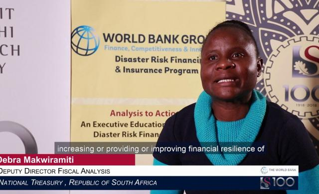 Debra Makwiramiti: Financial Resilience for Governments, Households, Farmers and Businesses.